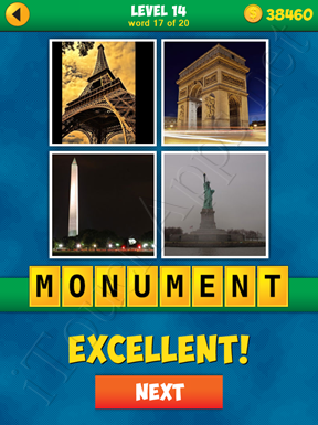 4 Pics 1 Word Puzzle - More Words - Level 14 Word 17 Solution