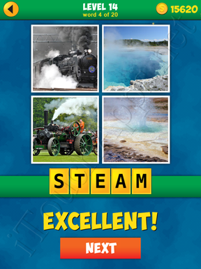 4 Pics 1 Word Puzzle - More Words - Level 14 Word 4 Solution