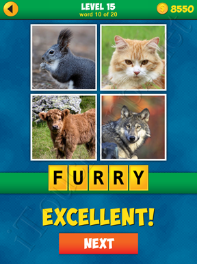 4 Pics 1 Word Puzzle - More Words - Level 15 Word 10 Solution