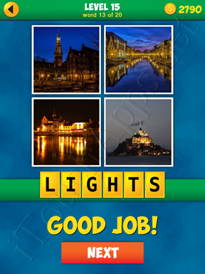 4 Pics 1 Word Puzzle - More Words - Level 15 Word 13 Solution