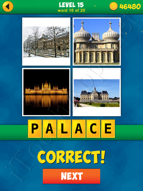 4 Pics 1 Word Puzzle - More Words - Level 15 Word 16 Solution