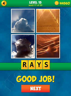4 Pics 1 Word Puzzle - More Words - Level 15 Word 17 Solution