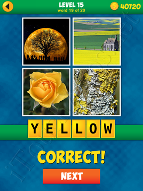4 Pics 1 Word Puzzle - More Words - Level 15 Word 19 Solution