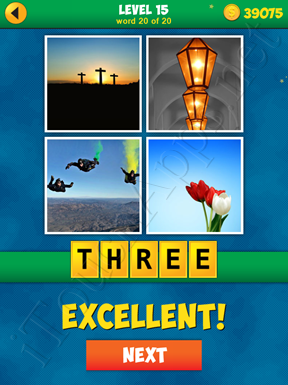4 Pics 1 Word Puzzle - More Words - Level 15 Word 20 Solution