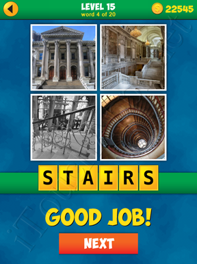 4 Pics 1 Word Puzzle - More Words - Level 15 Word 4 Solution
