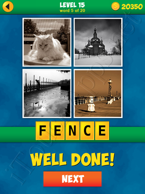 4 Pics 1 Word Puzzle - More Words - Level 15 Word 5 Solution