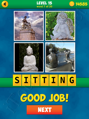 4 Pics 1 Word Puzzle - More Words - Level 15 Word 7 Solution