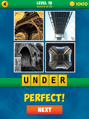 4 Pics 1 Word Puzzle - More Words - Level 15 Word 9 Solution