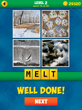 4 Pics 1 Word Puzzle - More Words - Level 2 Word 10 Solution