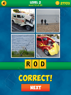 4 Pics 1 Word Puzzle - More Words - Level 2 Word 12 Solution