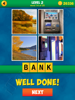 4 Pics 1 Word Puzzle - More Words - Level 2 Word 14 Solution