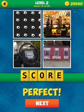 4 Pics 1 Word Puzzle - More Words - Level 2 Word 15 Solution