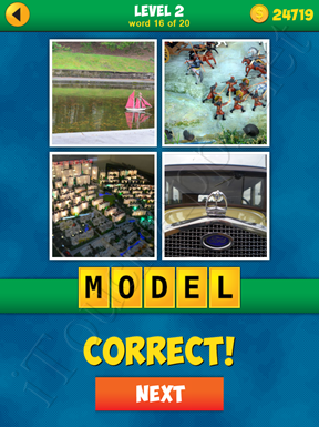 4 Pics 1 Word Puzzle - More Words - Level 2 Word 16 Solution