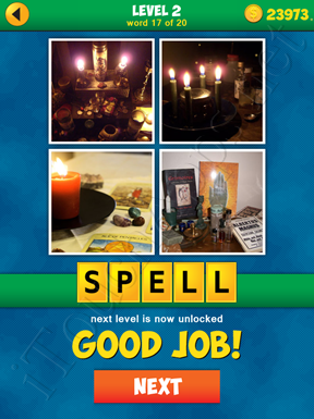 4 Pics 1 Word Puzzle - More Words - Level 2 Word 17 Solution