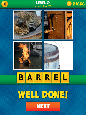 4 Pics 1 Word Puzzle - More Words - Level 2 Word 19 Solution