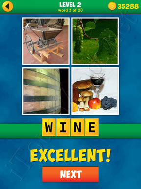 4 Pics 1 Word Puzzle - More Words - Level 2 Word 2 Solution