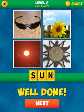 4 Pics 1 Word Puzzle - More Words - Level 2 Word 3 Solution
