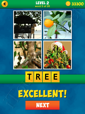 4 Pics 1 Word Puzzle - More Words - Level 2 Word 5 Solution