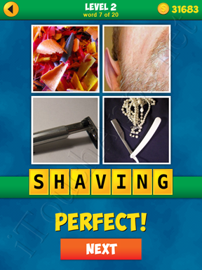 4 Pics 1 Word Puzzle - More Words - Level 2 Word 7 Solution