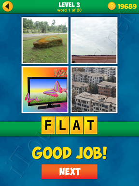 4 Pics 1 Word Puzzle - More Words - Level 3 Word 1 Solution