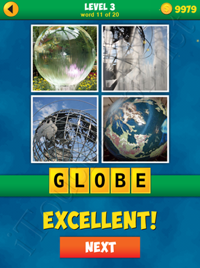 4 Pics 1 Word Puzzle - More Words - Level 3 Word 11 Solution