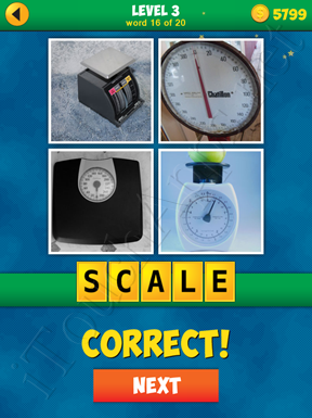 4 Pics 1 Word Puzzle - More Words - Level 3 Word 16 Solution