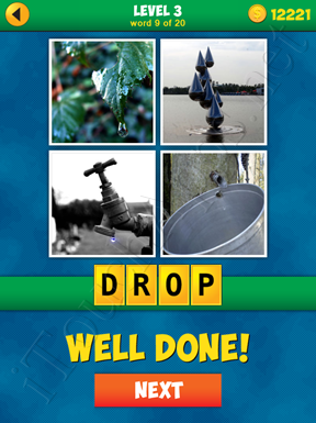 4 Pics 1 Word Puzzle - More Words - Level 3 Word 9 Solution