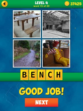 4 Pics 1 Word Puzzle - More Words - Level 4 Word 15 Solution