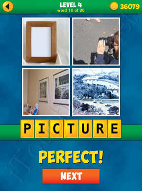 4 Pics 1 Word Puzzle - More Words - Level 4 Word 16 Solution