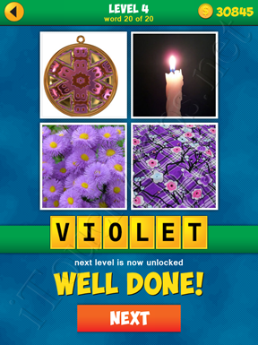 4 Pics 1 Word Puzzle - More Words - Level 4 Word 20 Solution