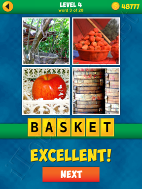 4 Pics 1 Word Puzzle - More Words - Level 4 Word 3 Solution