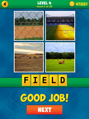 4 Pics 1 Word Puzzle - More Words - Level 4 Word 4 Solution