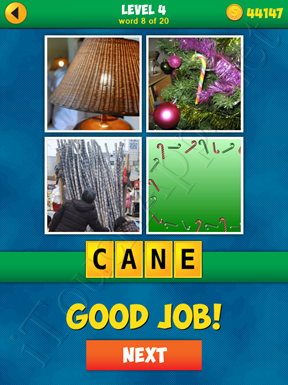 4 Pics 1 Word Puzzle - More Words - Level 4 Word 8 Solution