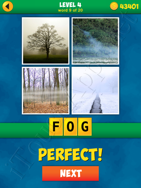 4 Pics 1 Word Puzzle - More Words - Level 4 Word 9 Solution
