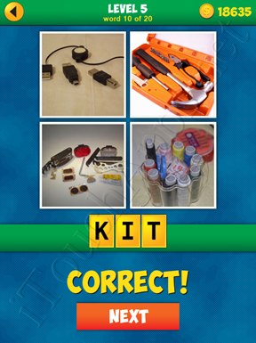 4 Pics 1 Word Puzzle - More Words - Level 5 Word 10 Solution