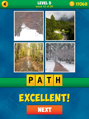 4 Pics 1 Word Puzzle - More Words - Level 5 Word 12 Solution