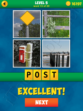 4 Pics 1 Word Puzzle - More Words - Level 5 Word 13 Solution