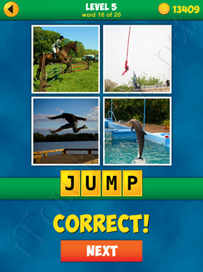 4 Pics 1 Word Puzzle - More Words - Level 5 Word 16 Solution