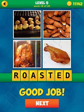 4 Pics 1 Word Puzzle - More Words - Level 5 Word 18 Solution