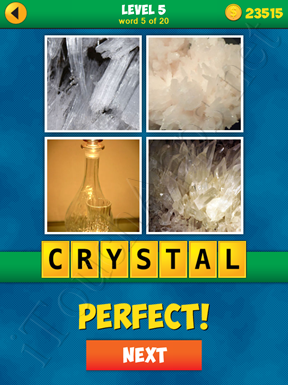 4 Pics 1 Word Puzzle - More Words - Level 5 Word 5 Solution