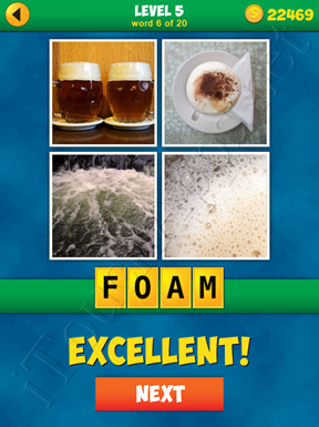 4 Pics 1 Word Puzzle - More Words - Level 5 Word 6 Solution