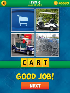 4 Pics 1 Word Puzzle - More Words - Level 6 Word 10 Solution