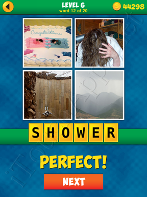 4 Pics 1 Word Puzzle - More Words - Level 6 Word 12 Solution