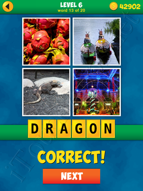4 Pics 1 Word Puzzle - More Words - Level 6 Word 13 Solution