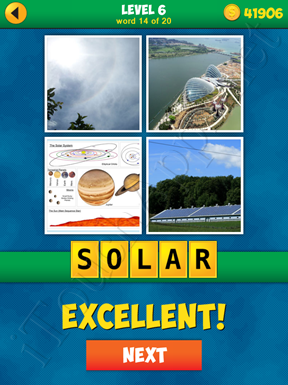 4 Pics 1 Word Puzzle - More Words - Level 6 Word 14 Solution