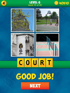 4 Pics 1 Word Puzzle - More Words - Level 6 Word 15 Solution