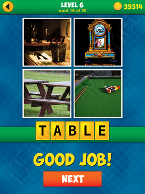 4 Pics 1 Word Puzzle - More Words - Level 6 Word 16 Solution
