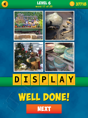 4 Pics 1 Word Puzzle - More Words - Level 6 Word 17 Solution
