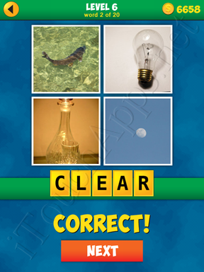 4 Pics 1 Word Puzzle - More Words - Level 6 Word 2 Solution