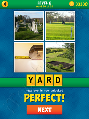 4 Pics 1 Word Puzzle - More Words - Level 6 Word 20 Solution